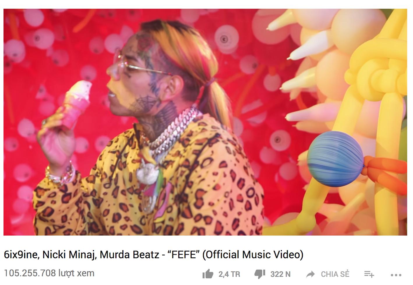 Nicki Minaj vừa có MV thứ 43 cán mốc trăm triệu view, san bằng kỷ lục với Rihanna - Ảnh 1.