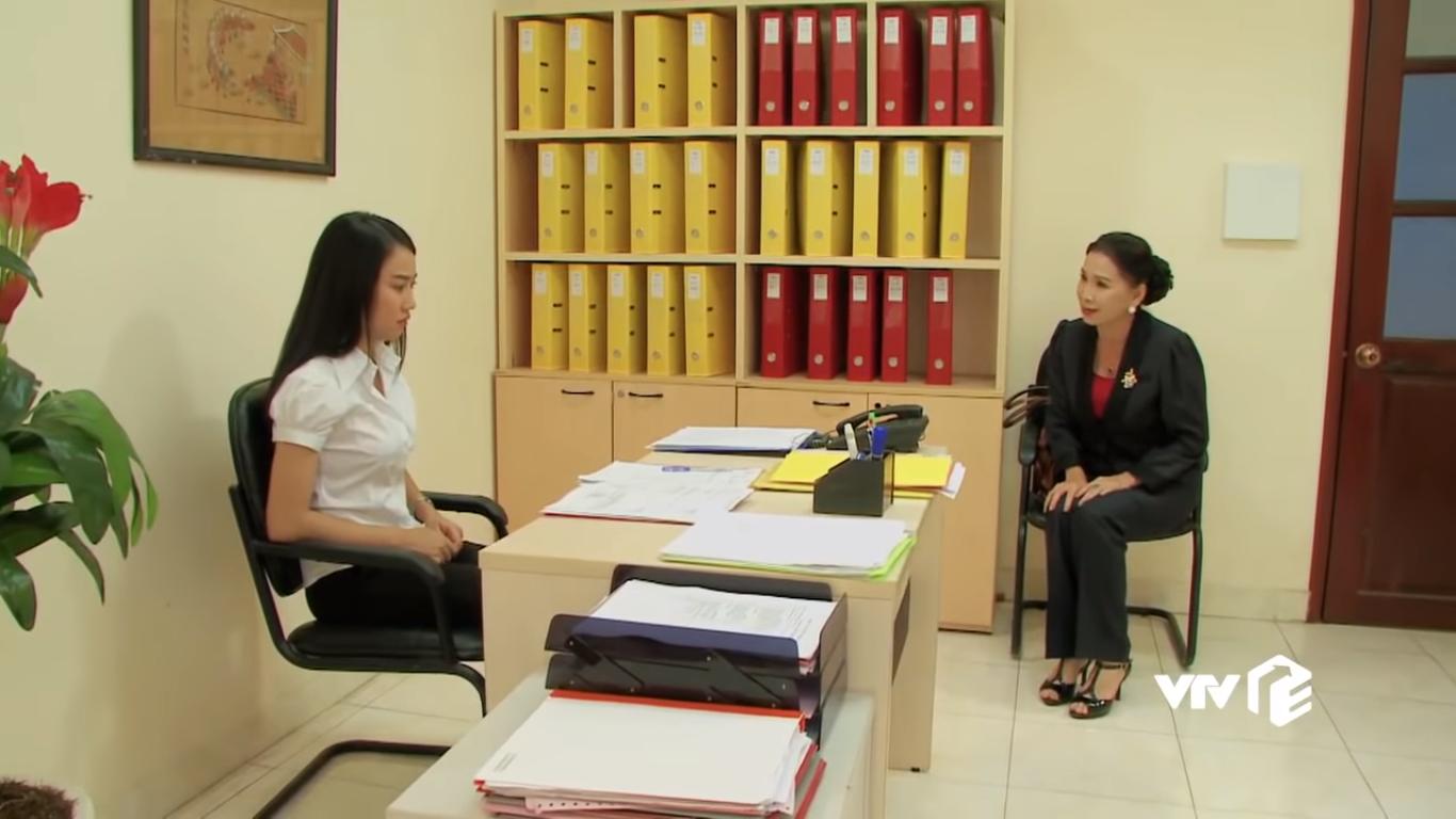 Bà Minh tìm đến công ty để cảnh cáo Tâm