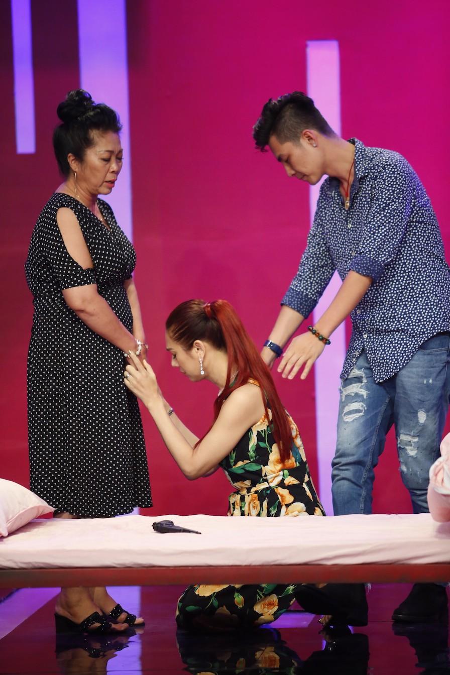 Lâm Khánh Chi gây bất ngờ khi sẵn sàng nhận tội thay chồng trước mặt mẹ chồng - Ảnh 3.