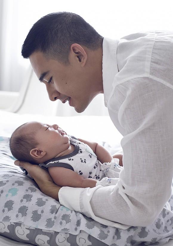 Lương Thế Thành - Thuý Diễm khoe bộ ảnh hạnh phúc cùng quý tử đầu lòng giấu kín 1 tháng sau sinh - Ảnh 11.