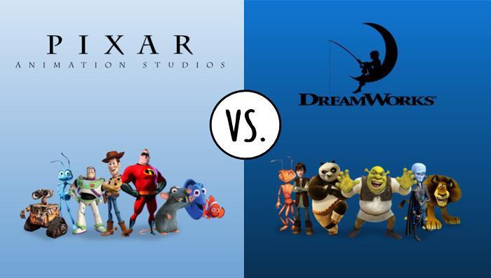 DreamWorks được coi là đối thủ của Disney/Pixar
