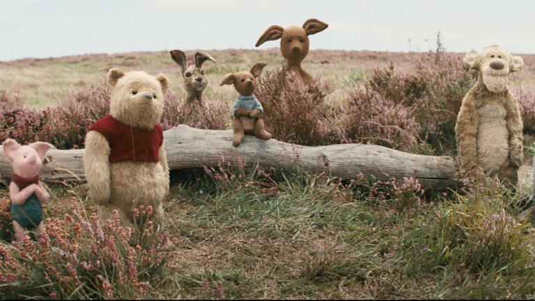 Hình ảnh mới lạ của Pooh và các bạn