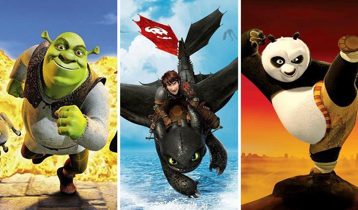 Những thương hiệu nổi tiếng của DreamWorks