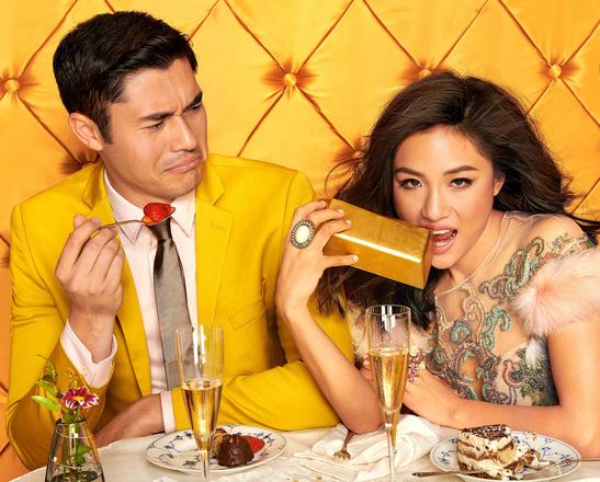 """Bộ ảnh lầy lội của cặp đôi trong """"Crazy Rich Asians"""""""