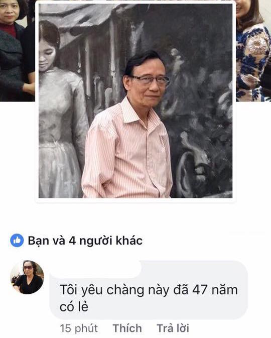 Khi bà ngoại tỏ tình với ông ngoại trên Facebook: Tôi yêu chàng trai này đã 47 năm có lẻ! - Ảnh 1.