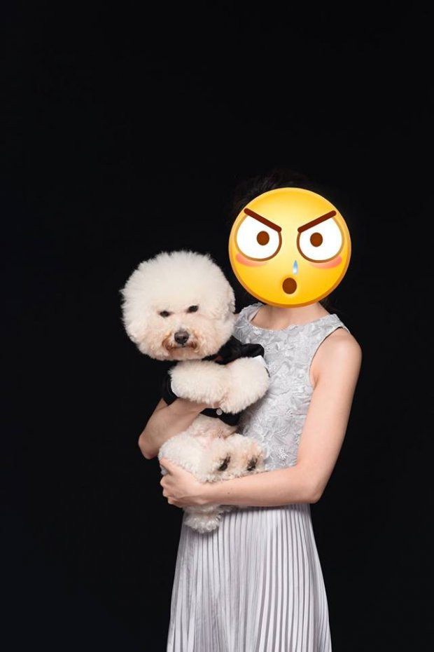 Mải mê tình cảm khi chụp ảnh cưới, cặp đôi trẻ bị chú chó cưng hờn dỗi cả buổi trời - Ảnh 3.