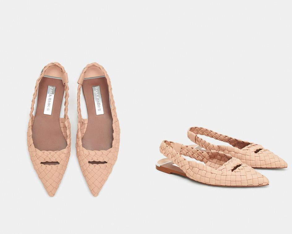 15 mẫu giày màu be đến từ Zara, H&M, Topshop vô cùng thanh lịch và trang nhã dành cho các quý cô công sở - Ảnh 1.