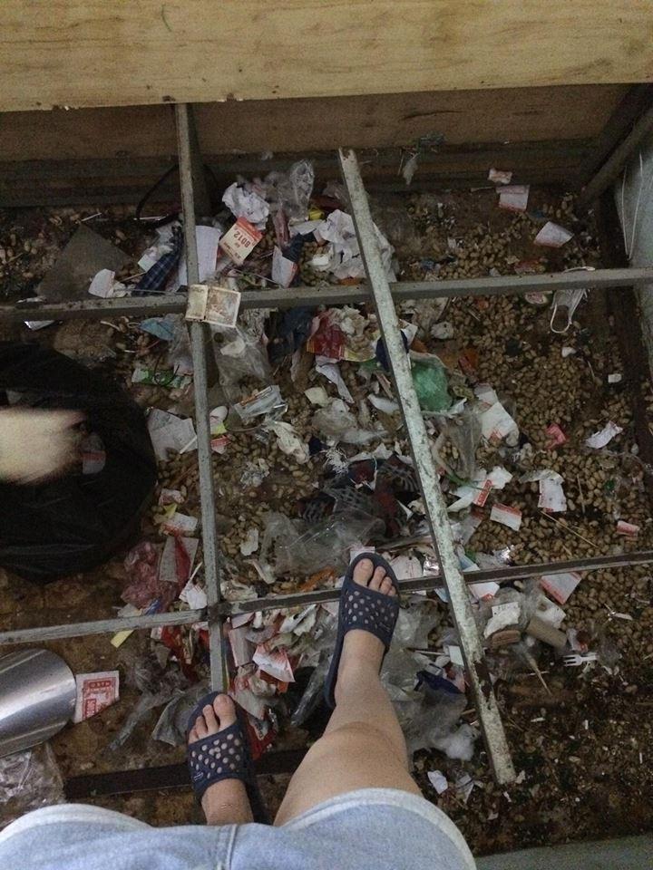Lại xuất hiện cô gái siêu ở bẩn, ra ngoài phấn son lồng lộn, ở nhà thì xả rác ngập ngụa gầm giường - Ảnh 2.
