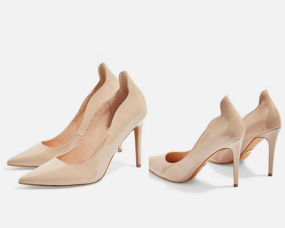 15 mẫu giày màu be đến từ Zara, H&M, Topshop vô cùng thanh lịch và trang nhã dành cho các quý cô công sở - Ảnh 14.