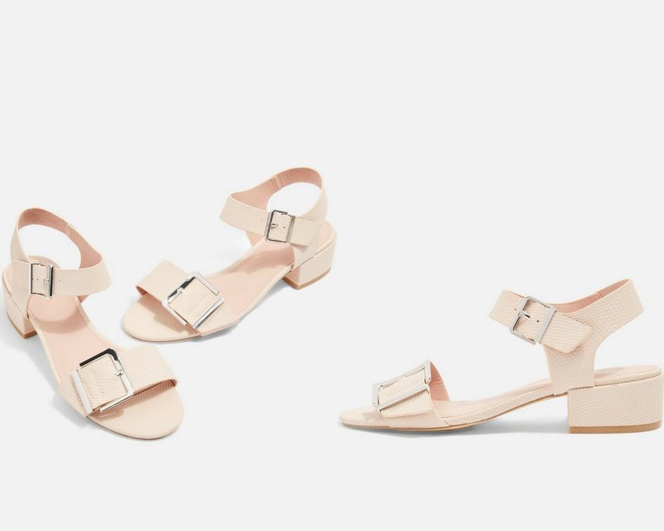 15 mẫu giày màu be đến từ Zara, H&M, Topshop vô cùng thanh lịch và trang nhã dành cho các quý cô công sở - Ảnh 15.