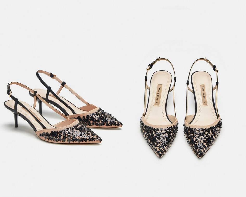 15 mẫu giày màu be đến từ Zara, H&M, Topshop vô cùng thanh lịch và trang nhã dành cho các quý cô công sở - Ảnh 4.