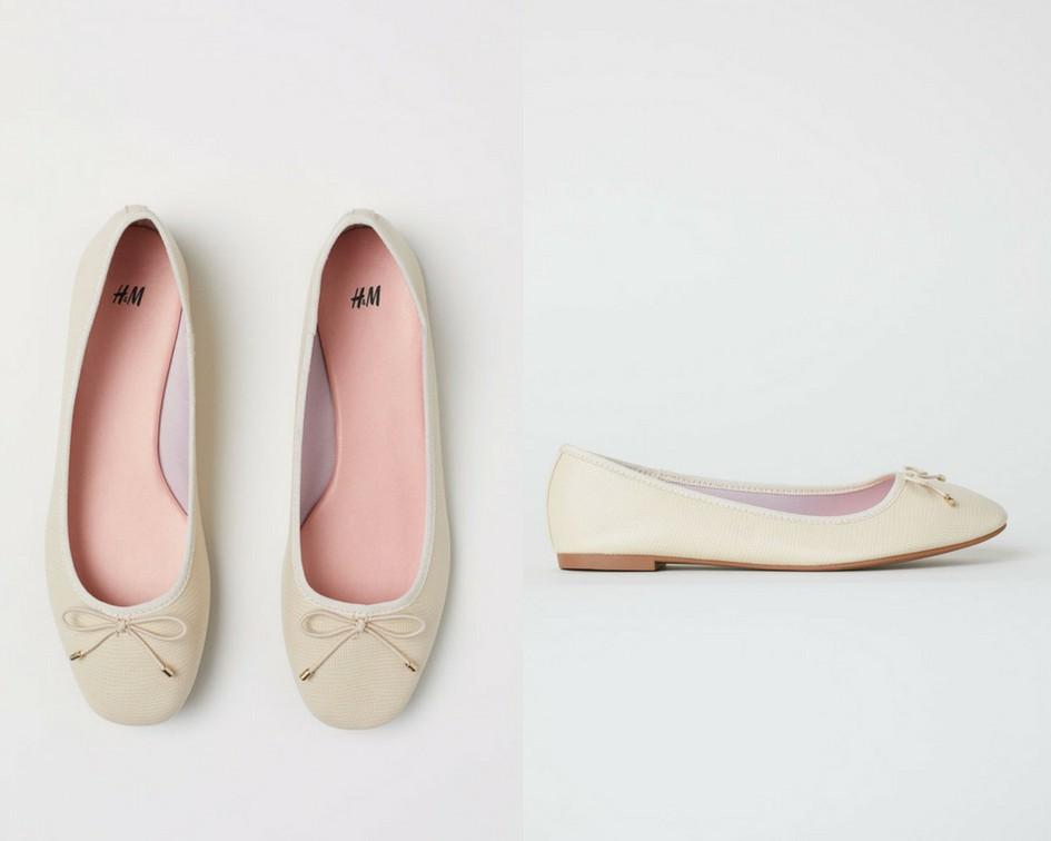 15 mẫu giày màu be đến từ Zara, H&M, Topshop vô cùng thanh lịch và trang nhã dành cho các quý cô công sở - Ảnh 9.