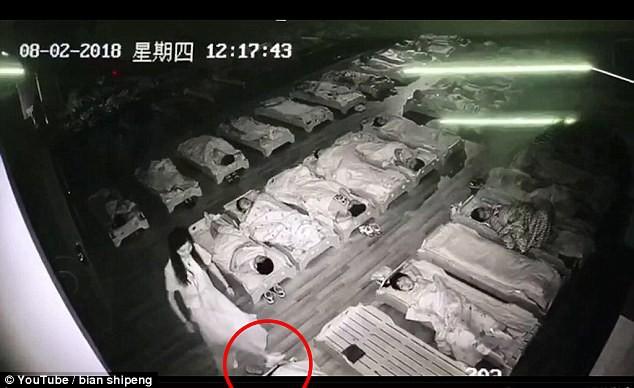 Trung Quốc: Giữa giờ nghỉ trưa, cô trông trẻ đi tát và đạp vào các bé mẫu giáo đang ngủ - Ảnh 6.
