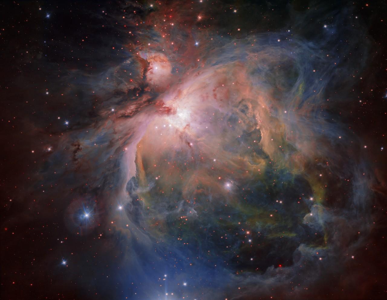 Các loại khí trong tinh vân này còn lạnh hơn cả bản thân vũ trụ
