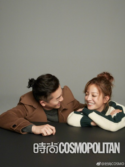 Cặp đôi quốc dân Triệu Vy - Tô Hữu Bằng ôm nhau siêu tình tứ trên bìa tạp chí - Ảnh 5.