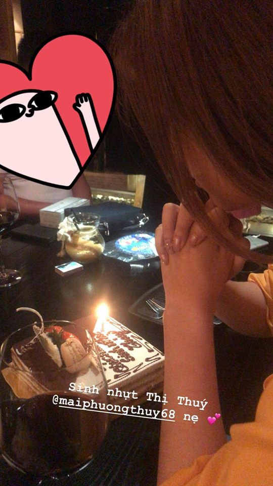 Hội bạn thân toàn Hoa hậu, Á hậu tề tựu để chúc mừng sinh nhật Mai Phương Thúy - Ảnh 3.