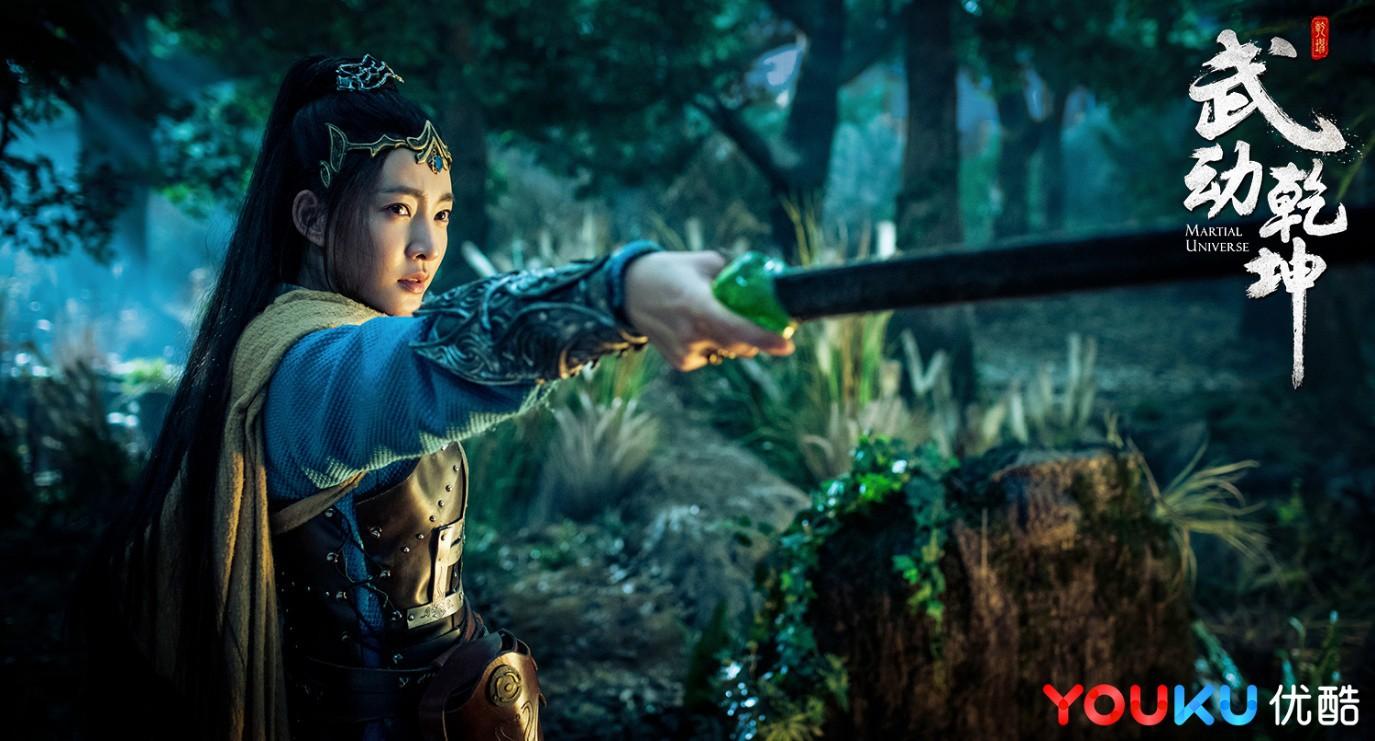 Vương Lệ Khôn trong vai nữ thần lạnh lùng Lăng Thanh Trúc
