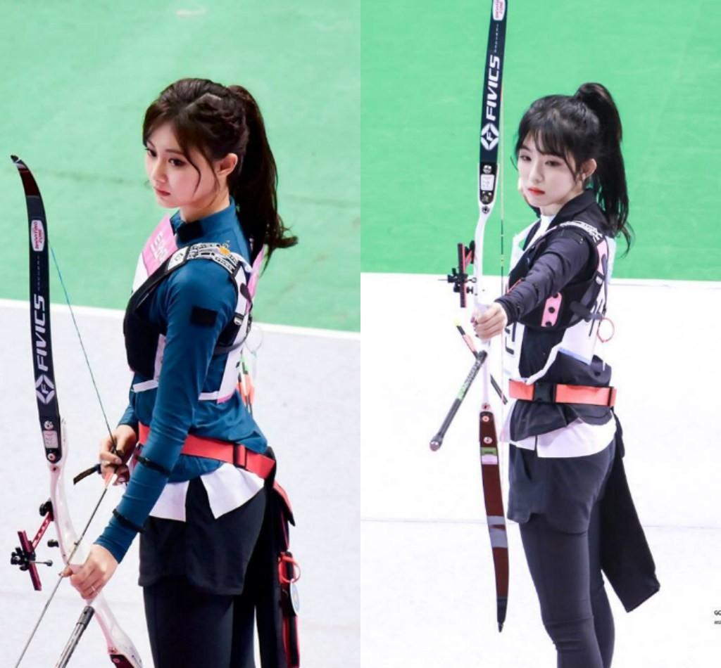 Irene (Red Velvet) & Tzuyu (TWICE) cùng thi bắn cung: Ai tỏa sáng hơn? - Ảnh 5.