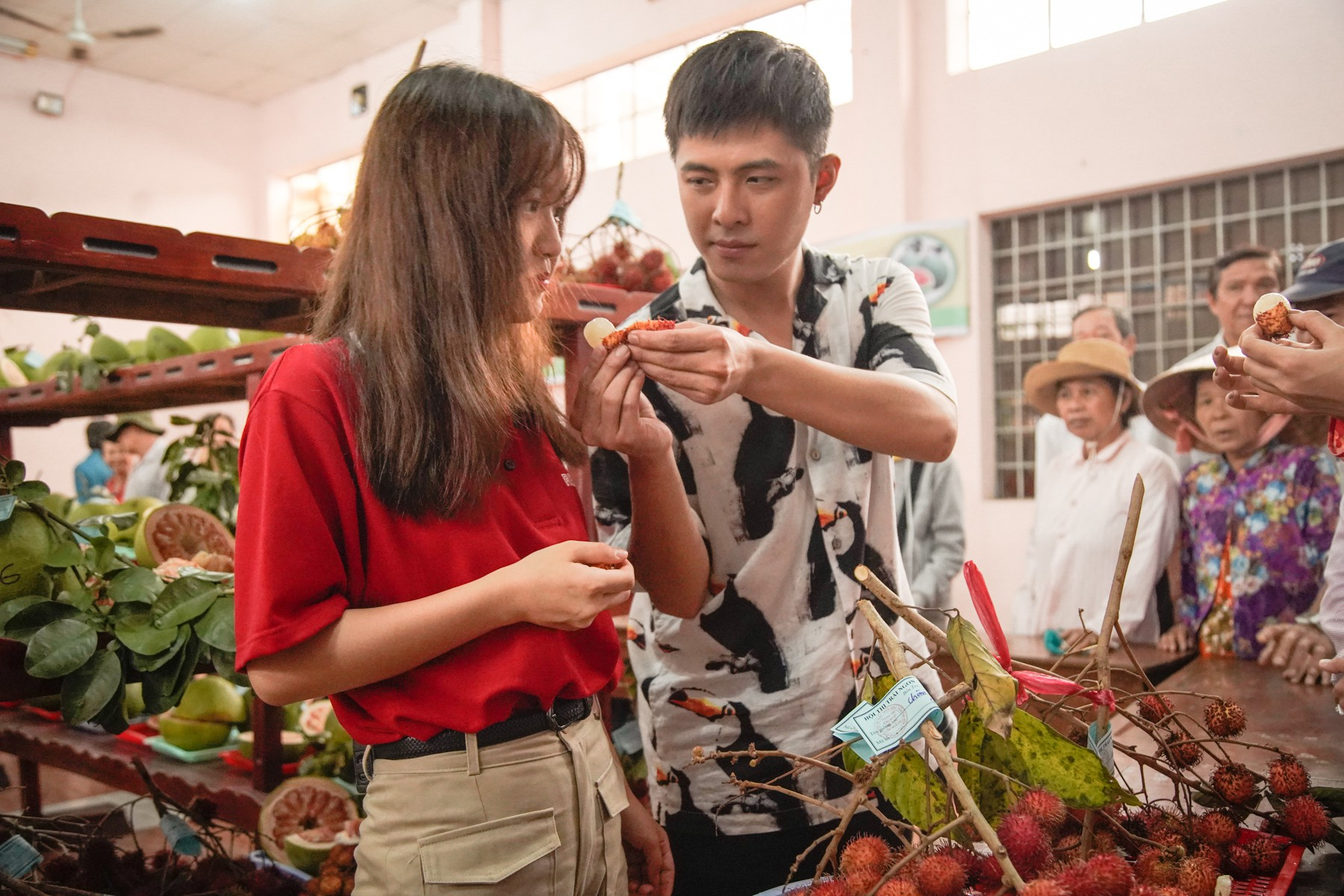 Gin Tuấn Kiệt bất ngờ trước độ am hiểu của Han Sara về ẩm thực Việt Nam - Ảnh 4.