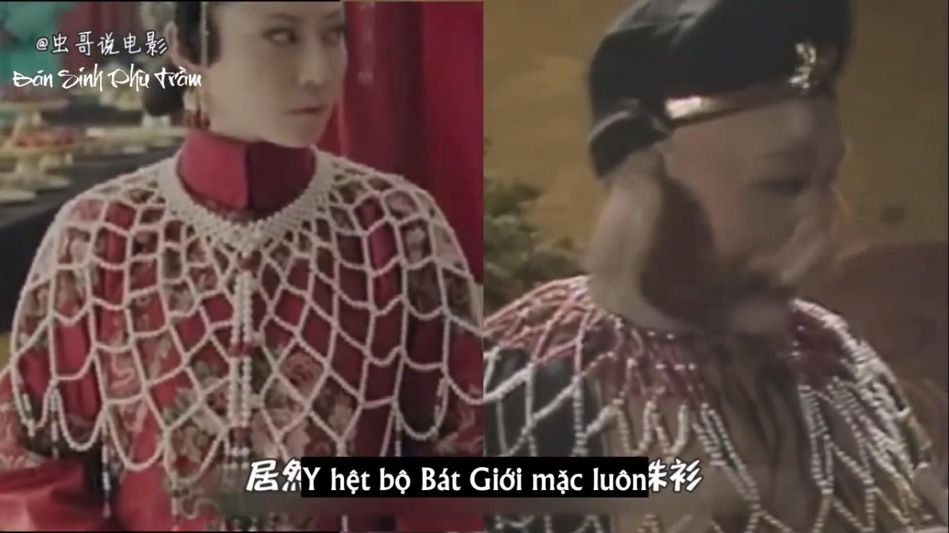 Sau bao tập phim, người ta chỉ còn nhớ đến bộ đồ vô cùng ấn tượng của Cao quý phi