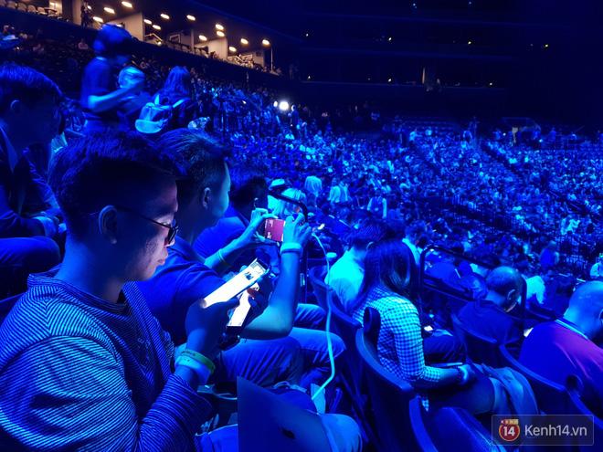 Toàn cảnh sân khấu sự kiện ra mắt Galaxy Note 9: Rất hoành tráng, quá cuốn hút và hứa hẹn sẽ cực kỳ bùng nổ - Ảnh 10.