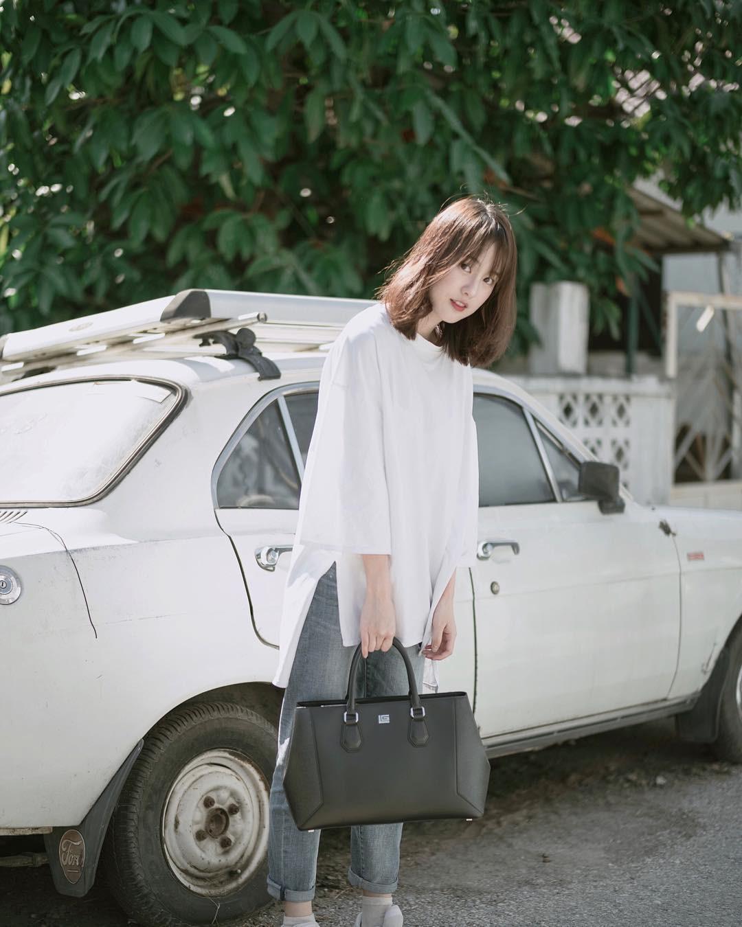 Nếu cạn kiệt background sống ảo, hãy lên ngay Instagram của Pimtha - hot girl số 1 Thái Lan mà học tập - Ảnh 17.