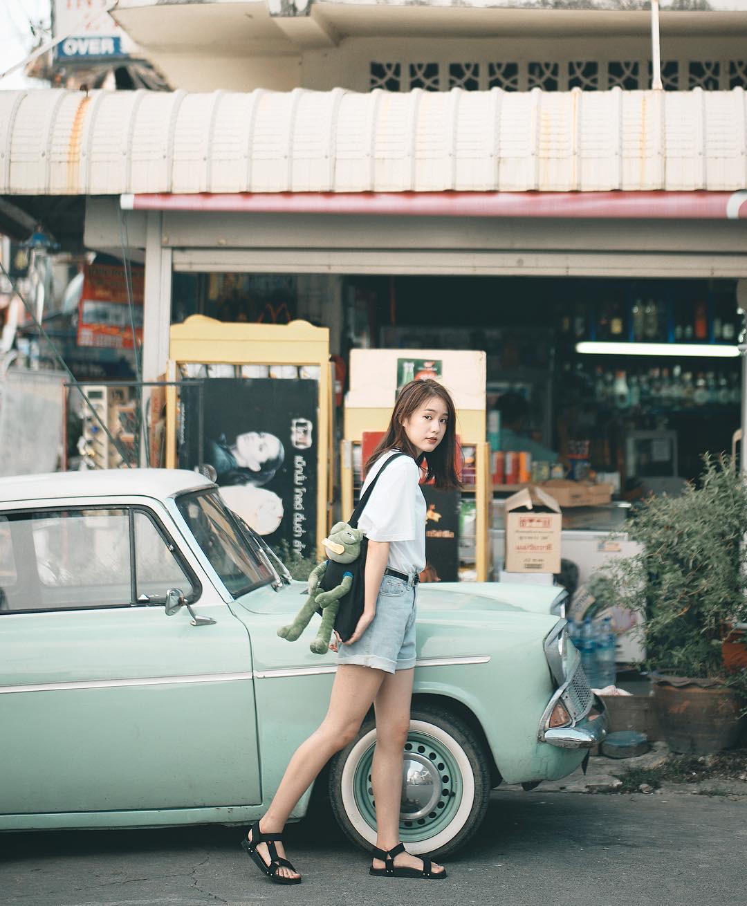 Nếu cạn kiệt background sống ảo, hãy lên ngay Instagram của Pimtha - hot girl số 1 Thái Lan mà học tập - Ảnh 15.