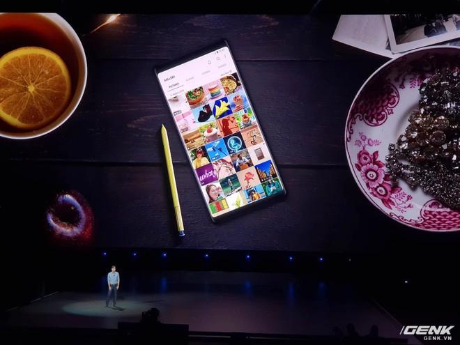 Samsung Galaxy Note9 chính thức ra mắt: cấu hình khủng nhất thị trường, S-Pen nhiều chức năng mới, camera thêm AI, giá cao nhất 1250 USD - Ảnh 2.