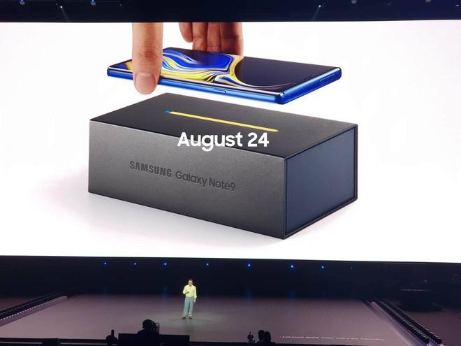 Tất cả những gì bạn cần biết về Galaxy Note 9 vừa ra mắt: Cấu hình, giá bán, màu sắc,... - Ảnh 3.