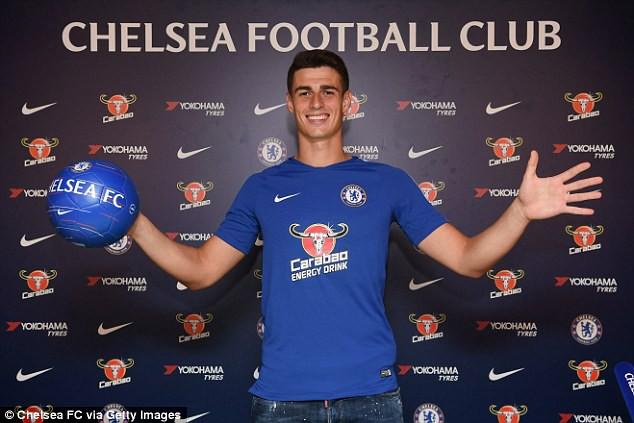 Thủ môn đắt giá nhất thế giới nói gì ngày ra mắt Chelsea - Ảnh 1.