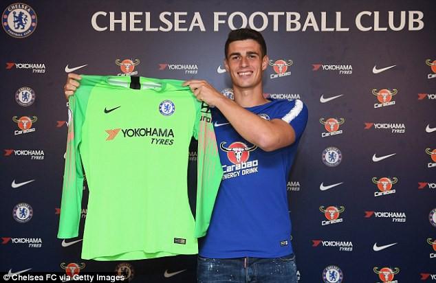 Thủ môn đắt giá nhất thế giới nói gì ngày ra mắt Chelsea - Ảnh 2.