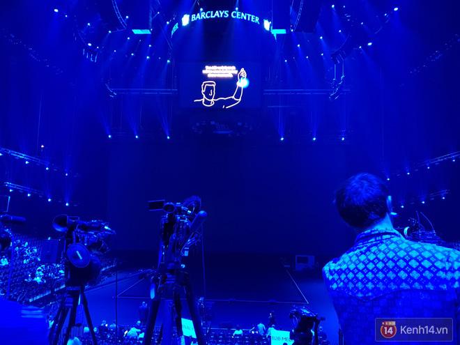 Toàn cảnh sân khấu sự kiện ra mắt Galaxy Note 9: Rất hoành tráng, quá cuốn hút và hứa hẹn sẽ cực kỳ bùng nổ - Ảnh 8.