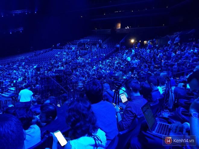Toàn cảnh sân khấu sự kiện ra mắt Galaxy Note 9: Rất hoành tráng, quá cuốn hút và hứa hẹn sẽ cực kỳ bùng nổ - Ảnh 9.