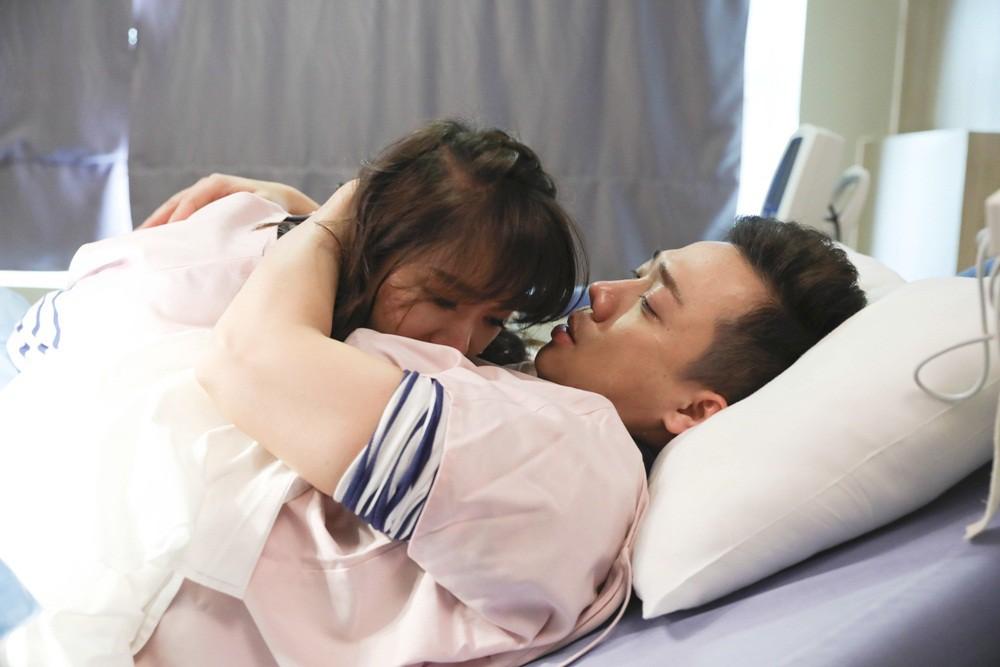Khi đàn ông mang bầu: Trấn Thành bật khóc nức nở vì thương Hari Won khi vượt cạn - Ảnh 12.