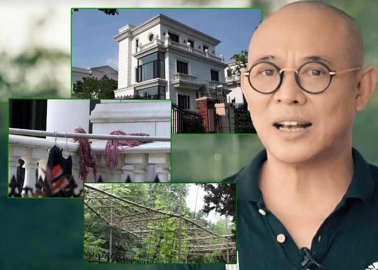 Hình Ảnh Khu Siêu Biệt Thự Cao Cấp Trị Giá Hơn 350 Tỷ Đồng Bị Lý
