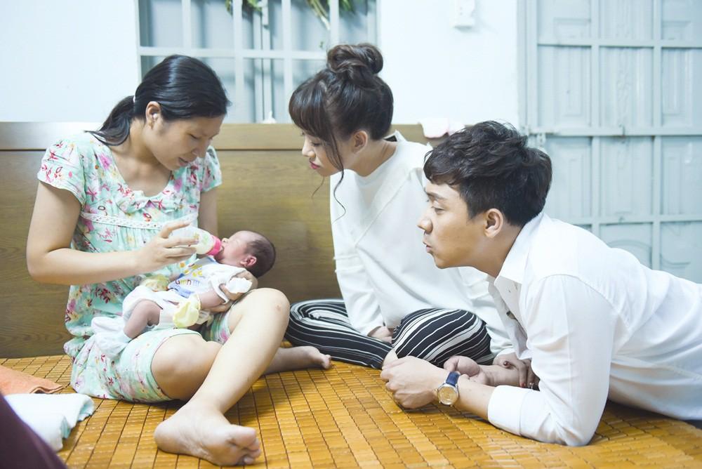 Khi đàn ông mang bầu: Trấn Thành bật khóc nức nở vì thương Hari Won khi vượt cạn - Ảnh 15.
