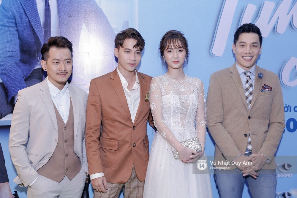 Từ trái qua: POM, S.T, Jang Mi và NSX Minh Beta