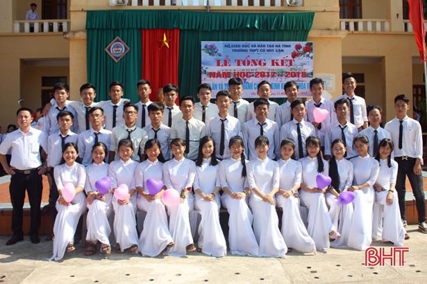 Cả lớp học vùng rốn lũ Hà Tĩnh đều đậu đại học các trường top đầu - Ảnh 1.