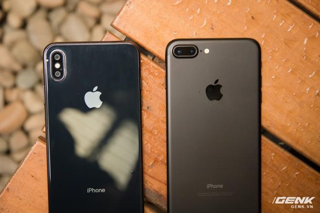 So sánh kích thước iPhone X Plus và iPhone 7 Plus: To bằng nhau, nhưng màn hình iPhone X Plus lớn hơn nhiều - Ảnh 2.