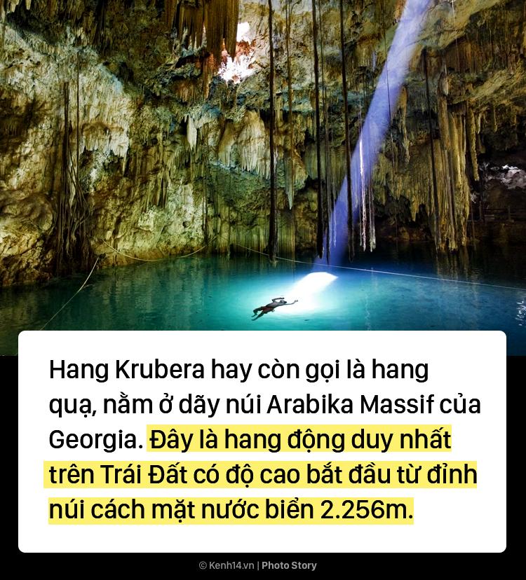 Hang động sâu nhất thế giới đi xuyên xuống dưới lòng đất - Ảnh 1.