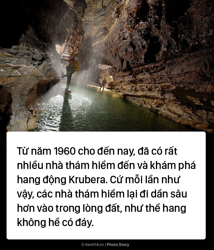 Hang động sâu nhất thế giới đi xuyên xuống dưới lòng đất - Ảnh 7.