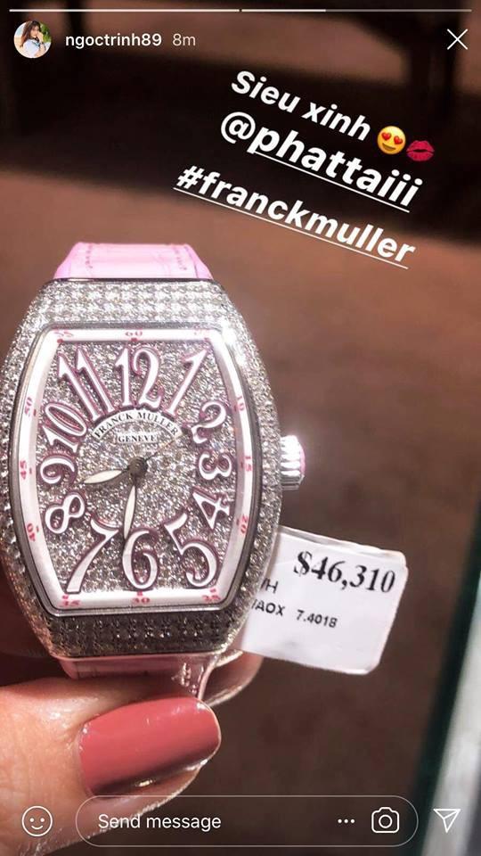 Chỉ trong 1 ngày: sáng còn choáng váng với đồng hồ 28 tỷ của Lý Nhã Kỳ, chiều lại xuýt xoa với đồng hồ chục ngàn đô của Ngọc Trinh - Ảnh 8.