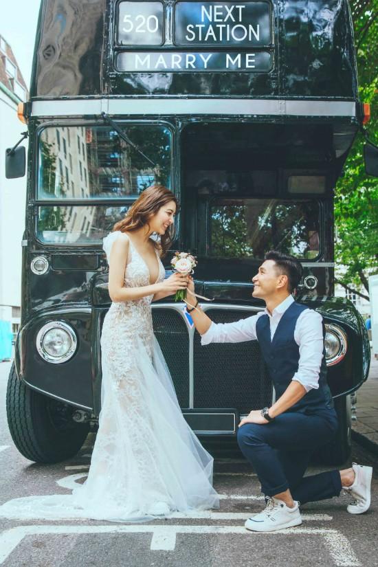 Bộ ảnh cưới của tài tử TVB Trần Triển Bằng và thí sinh Hoa hậu Hong Kong kém 13 tuổi được hé lộ - Ảnh 3.