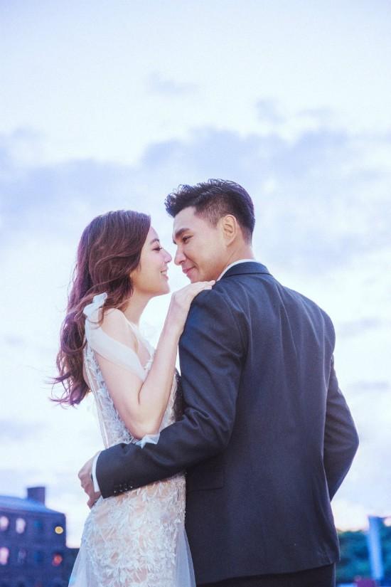 Bộ ảnh cưới của tài tử TVB Trần Triển Bằng và thí sinh Hoa hậu Hong Kong kém 13 tuổi được hé lộ - Ảnh 4.