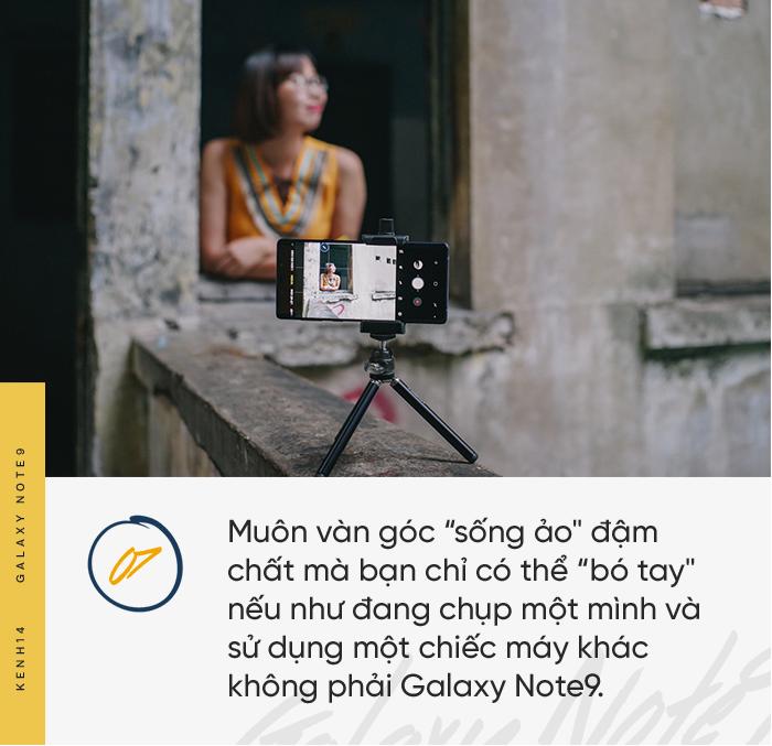 Có S Pen của Galaxy Note9 rồi thì cần gì anh trai mưa chụp ảnh cho nữa?? - Ảnh 10.