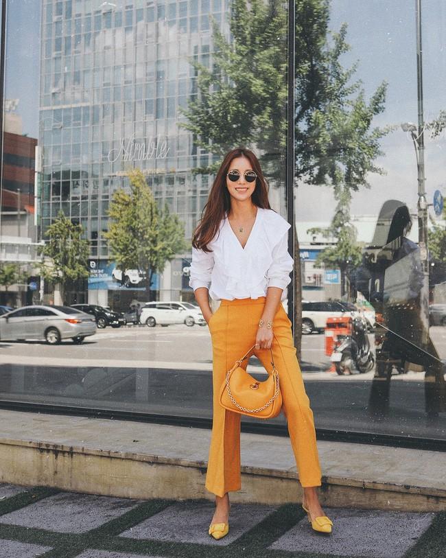 Muốn diện đồ đơn giản mà không bị nhàm chán, các nàng hãy ngắm qua street style Châu Á tuần này xem sao - Ảnh 3.
