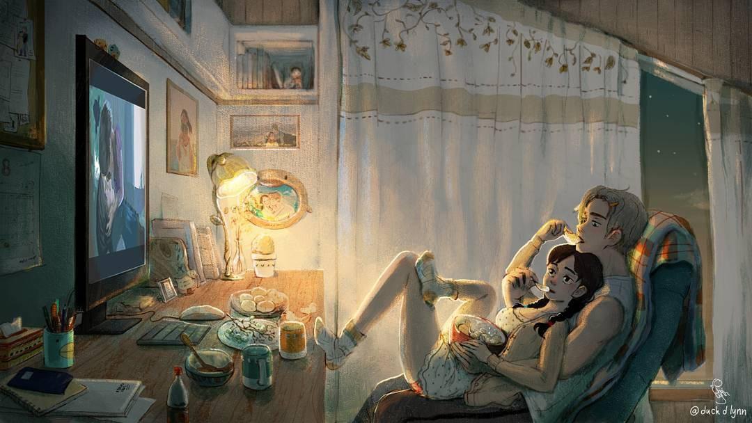 Bộ tranh: Khi tất cả những gì ta ước ao chỉ là một tình yêu bình yên và giản đơn đến thế - Ảnh 13.