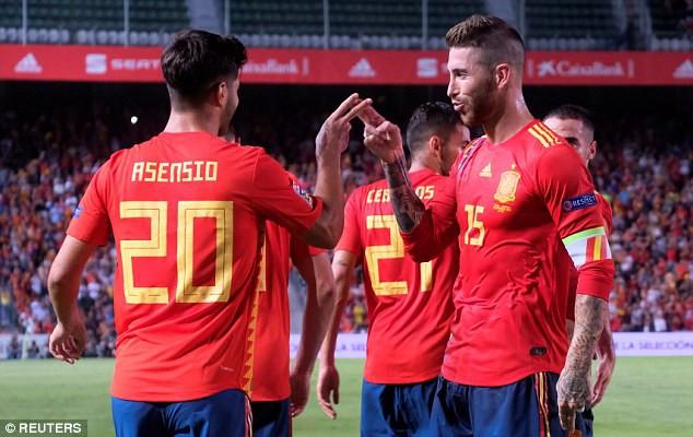 Á quân World Cup 2018 nhận thất bại không tưởng trước Tây Ban Nha - Ảnh 8.