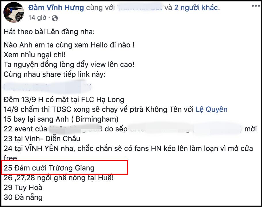 Đám cưới Trường Giang Nhã Phương: Đàm Vĩnh Hưng hé lộ ngày cưới chính xác - Ảnh 1.