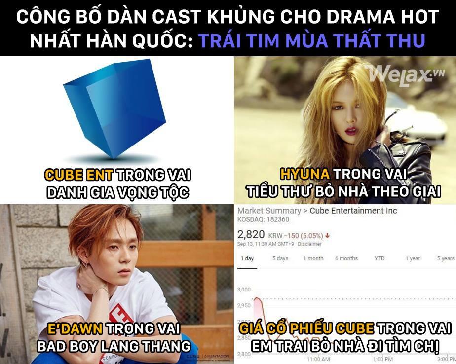 Cư dân mạng khi theo dõi drama nhà CUBE với HyunA và EDawn ngày hôm nay: Đuổi hay không đuổi nói một lời thôi!! - Ảnh 3.